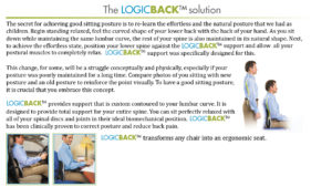 Logic Back | Posture Corrector | Posture Support | Lumbar Support